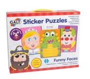 Galt Funny Faces Sticker Puzzles