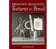 Book Drawing Realistic Textures in Pencil