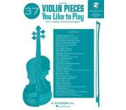 Book 37 Violin Pieces You Like to Play