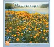 Book Flowerscapes 2018 Calendar: Artwork by Amy Melious
