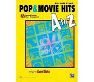 Book Pop & Movie Hits A to Z: Big Note Piano: 45 Fun and Familiar Piano Arrangements
