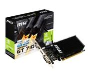 MSI NVIDIA GeForce GT 710 1GD3H LP -näytönohjain, 1GB DDR3, PCI-E 2.0