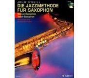 Book Jazz Method for Soprano/Tenor Sax Book/CD