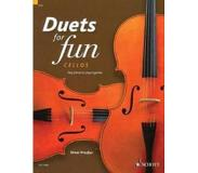 Book Duets for Fun: Cellos: Easy Pieces to Play Together - Performance Score
