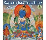 Book Sacred Images of Tibet 2018 Wall Calendar: Thangka Meditation Paintings and Text by Greg Smith