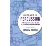 Book How to Write for Percussion