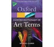 Book The Concise Dictionary of Art Terms