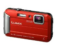 Panasonic Lumix DMC-FT30 Punainen