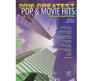 Book 2016 Greatest Pop & Movie Hits: Easy Piano