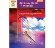 Book Open My Heart to Worship: 11 of the Most Popular Praise and Worship Songs Masterfully Arranged for Solo Piano