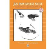 Book Joe Pass Guitar Style: Learn The Sound Of Modern Harmony & Melody, Book & Cd