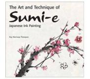 Book The Art and Technique of Sumi-e Japanese Ink Painting