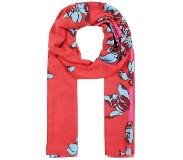 PS by Paul Smith WOMEN SCARF FLORAL STRIPE Huivi red One Size
