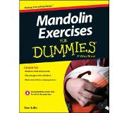 Book Mandolin Exercises For Dummies