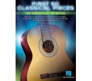 Hal Leonard Corp First 50 Classical Pieces You Should Play on Guitar