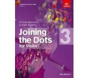 Book Joining the Dots for Violin, Grade 3