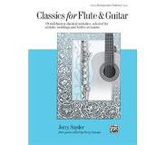 Book Classics for Flute & Guitar: 19 Well-Known Classical Melodies, Selected for Recitals, Weddings, and Festive Occasions