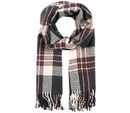 Only ONLNINNI WEAVED CHECK SCARF Huivi sky captain One Size