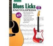 Book Blues Licks Encyclopedia: Over 300 Guitar Licks, Book & CD