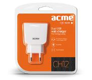 Forever ACME CH12 USB laturi - 2.1A - Valkoinen
