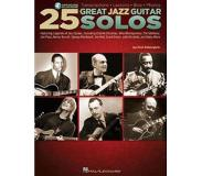 Book 25 Great Jazz Guitar Solos: Transcriptions * Lessons * BIOS * Photos