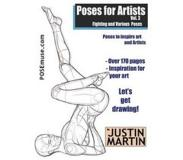 Book Poses for Artists Volume 3 - Fighting and Various Poses: An Essential Reference for Figure Drawing and the Human Form