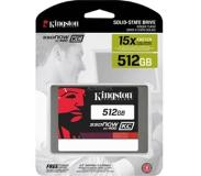 "Kingston Technology SSDNow KC400 512GB 512GB 2.5"" Serial ATA III"