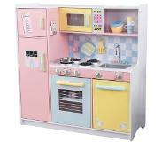 Kidkraft Large pastel colored wooden children's kitchen