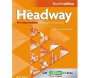 Book New Headway: Pre-Intermediate A2 - B1: Workbook + iChecker without Key - The world's most trusted English course