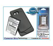 Cameron Sino HTC Incredible Incredible PB31200 Droid Incredible Extended With Black Cover Color Back Cover yhteensopiva akku - 2200 mAh