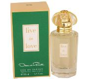 Oscar de la Renta Live in Love, EdP 50ml