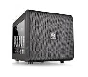 Thermaltake Core V21 Micro Atx Tower Black I/O Port 2Xusb3.0 1Xhd Audio Side Window 5 Expansion Slots Cases Be Stacked