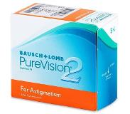 Bausch & Lomb PureVision 2 for Astigmatism (6 kpl)