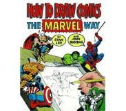 Book How to Draw Comics Marvel Way