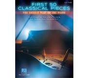 Book First 50 Classical Pieces You Should Play On The Piano (Easy Piano)