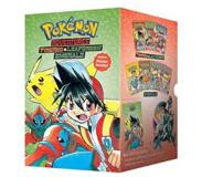 Book Pokemon Adventures Fire Red&Leaf Green / Emerald Box Set