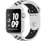 Apple Watch Series 3 Nike+ 42mm (Platina/Musta urheiluranneke)