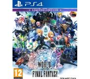 Square Enix World of Final Fantasy Limited Edition, PS4 videopeli Perus+DLC PlayStation 4