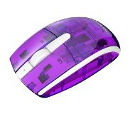 PDP Cosmoberry hiiri RF Wireless Optical Ambidextrous Transparent,Violet