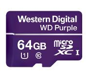 Western Digital Purple Surveillance 64GB microSDXC UHS-I Memory Card