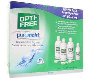 Alcon OPTI-FREE PureMoist -piilolinssineste 3 x 300 ml