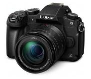 Panasonic Lumix DMC-G80M + Lumix G Vario 12-60mm obj.