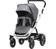 Britax Go Big2 rattaat White runko/ Grey Melange