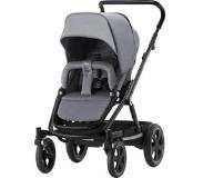 Britax Go Big2 rattaat Black runko/ Grey Melange