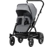Britax Go Big2 rattaat Black runko/ Steel Grey