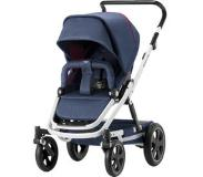 Britax Go Big2 rattaat White runko/ Oxford Navy