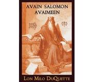 Book AVAIN SALOMON AVAIMEEN