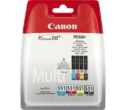 Canon CLI-551 value pack & 10x15 PP 201 (50)