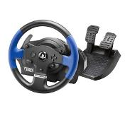 Thrustmaster T150 Force Feedback Ohjauspyörä + pedaalit PC,PlayStation 4,Playstation 3 Musta, Sininen