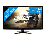 "Acer G6 GN246HLB LED display 61 cm (24"") 3D Full HD Musta"
